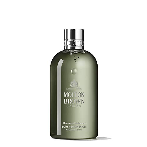 Molton Brown Bath & Shower Gel, Geranium Nefertum, 10 Fl Oz