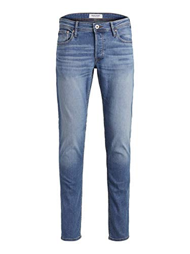 Jack & Jones Jjiglenn Jjoriginal Am 815 Noos Vaqueros Slim, Azul (Blue Denim Blue Denim), 30W / 30L para Hombre