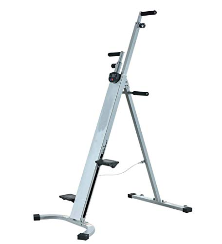 Vertical Climbing Machine Stepper, Folding Exercise Climbing Machine, Home Vertical Climber, Max Load 300KG, Folding, Height Adjustable, Multifunctional Fitness Equipment