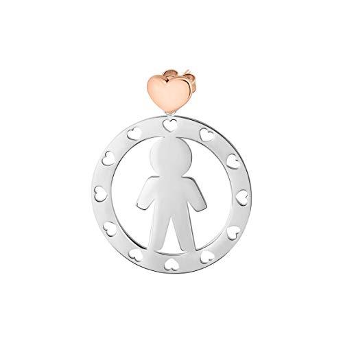 Morellato Orecchini da donna, Collezione Talismani, in acciaio - SAQE04