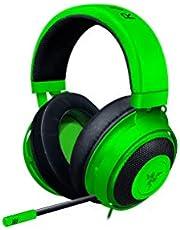 Razer Kraken - Gaming Headset (Bedrade Headset Voor PC, PS4, Xbox One & Switch, 50 mm Driver, 3,5 mm Jack Plug Met In-Line Afstandsbediening) Groen