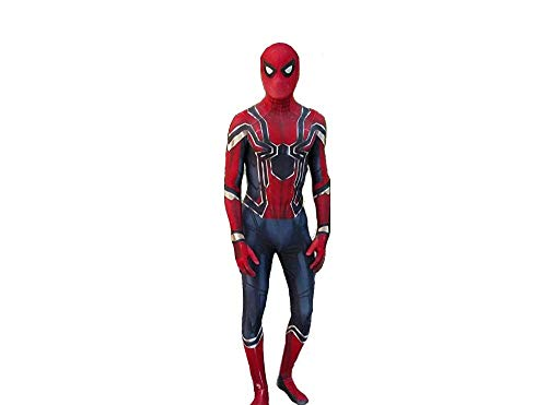 Iron Spider-Man Cosplay Costume (Medio)
