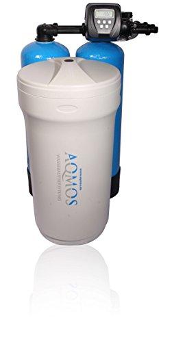 Hochwertiger Aqmos Doppelenthärter CMD1-100 Clack | Wasserenthärtungsanlage für Haushalte bis zu 7 Personen | Entkalkungsanlage | Antikalkanlage | Doppelenthärtungsanlage | Entkalker