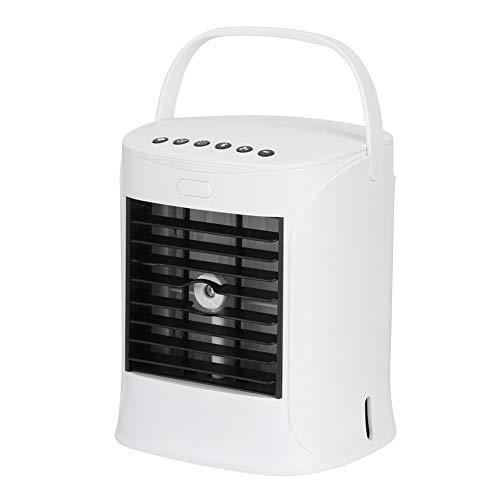 Da Dini Mini Acondicionador De Aire Del USB Humidificación De La Humidificación Del Refrigerador De Aire Del Ventilador De Escritorio Altavoz Incorporado Para El Dormitorio De La Oficina Para El Día D