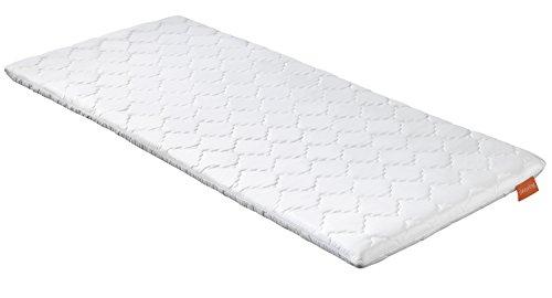 sleepling 194490 Topper Cubre colchón, Espuma en frío, 90 x 190 x 6 cm, Blanco