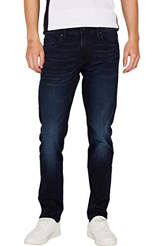 edc by ESPRIT Herren 109Cc2B001 Slim Jeans, Blau (Blue Dark WASH 901), W34/L32 (Herstellergröße:34/32)