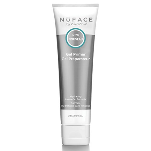 NuFACE Facial Hydrating Leave-On Gel Primer | For Use with NuFACE Devices to Lift Contour Tone Skin + Reduce Look of Wrinkles | FDA-Cleared At-Home System | 2 Fl Oz