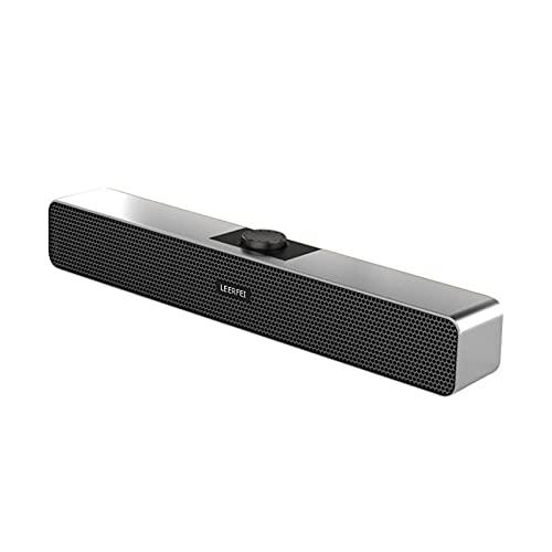 Altavoz Bluetooth portátil, Altavoz Bluetooth con Cable, Efecto de Sonido 9D, Altavoz de Barra Larga estéreo inalámbrico clásico de 4 Unidades, Altavoz de Viaje para Exteriores en casa