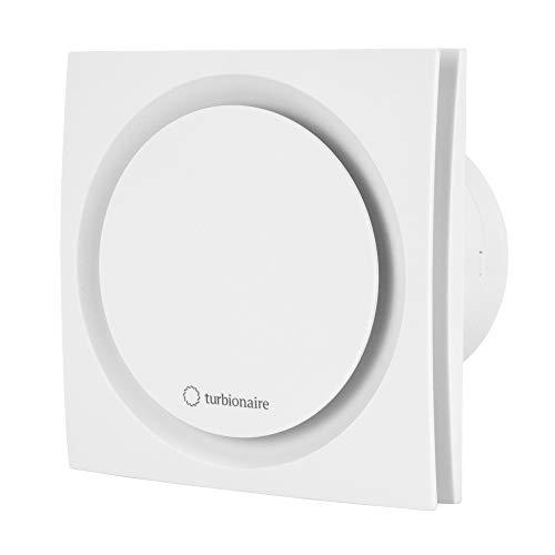 Turbionaire Ring 100 SW Abluftventil, 100 mm, Weiß, doppelte Saugleistung, Standard für Badezimmer, Küche, Rückstauklappe, Schutz IPX4