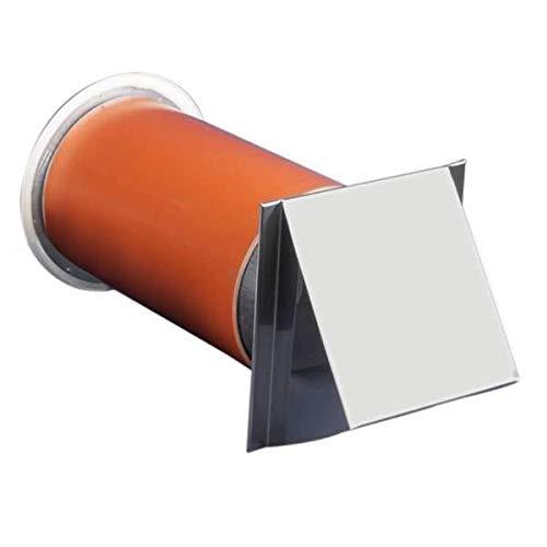 Ø 150 mm Frischluftanschluss unbeheizt mit Tellerventil inkl. Edelstahlabdeckung und Insektenschutzgitter