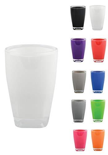 MSV 140662 - Vaso de acrílico, color blanco