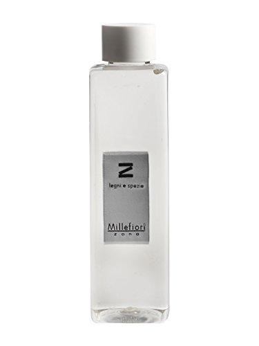 Millefiori Milano Linea Zona ricarica da 250ml fragranza Legni e Spezie per diffusore bastoncini / stick