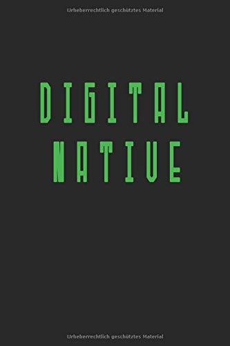 Digital Notizbuch: Digital Geschenk Notizbuch Tagebuch Planer Notizblock 120 linierte Seiten 6x9 Zoll (ca. DIN A5) Geschenkidee