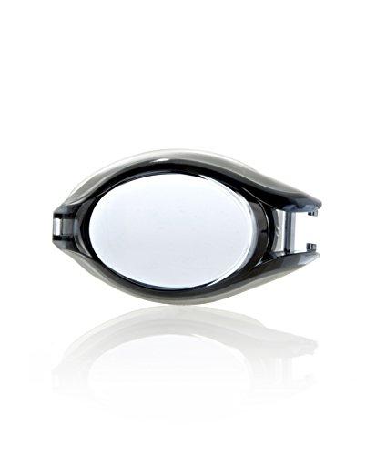 Speedo Pulse Optical Lens, Lenti per Occhialini Unisex-Adulto, Argento/Grigio Fumo, - 2.5