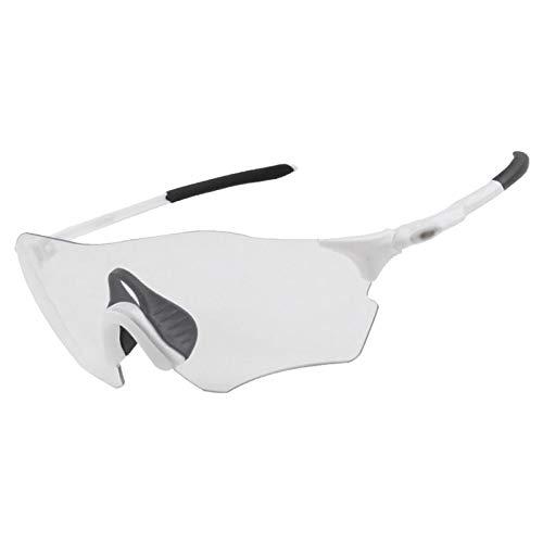 WSC Gafas A Prueba De Viento, Ciclismo Polarizado Cambio De Color Miopía Bicicleta De Montaña Gafas Deportivas Profesionales para Correr Al Aire Libre(Color:UN)
