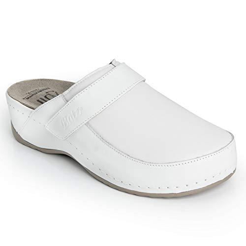 Batz ELENA Licht en Flexibel Handgemaakte Hoogwaardige Lederen Sandalen Klompen Muilezels Slippers Schoenen Dames