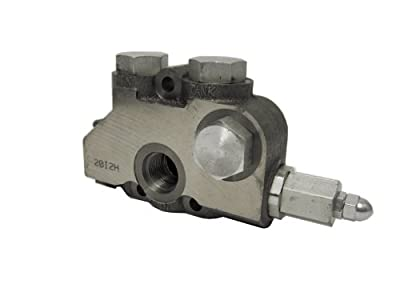 Prince 20I2A Hydraulic Directional Control Valve Inlet Section, No Relief, Cast Iron, #12 SAE by Prince Manufacturing