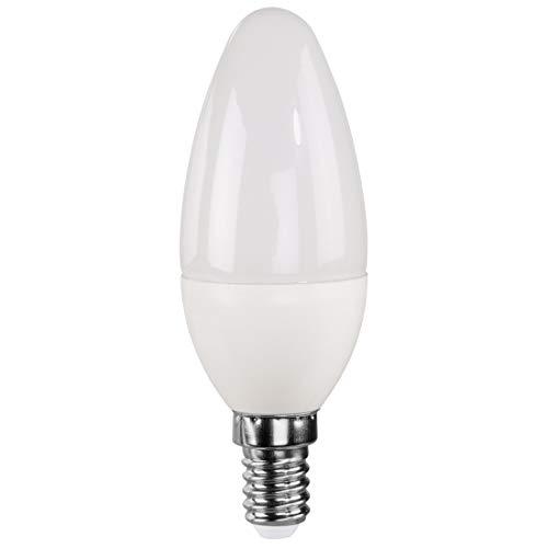 Xavax Ampoule LED, 4,5W, forme flamme, E14, blanc chaud