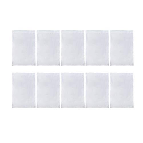 KUEUNBU 10pcs Solid Color Blank Banner Party im Freien Polyester Stoff Weiß Flagge Garten Innenhof Flag 30x45cm