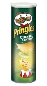 Pringles Cheese & Onion 6x165g