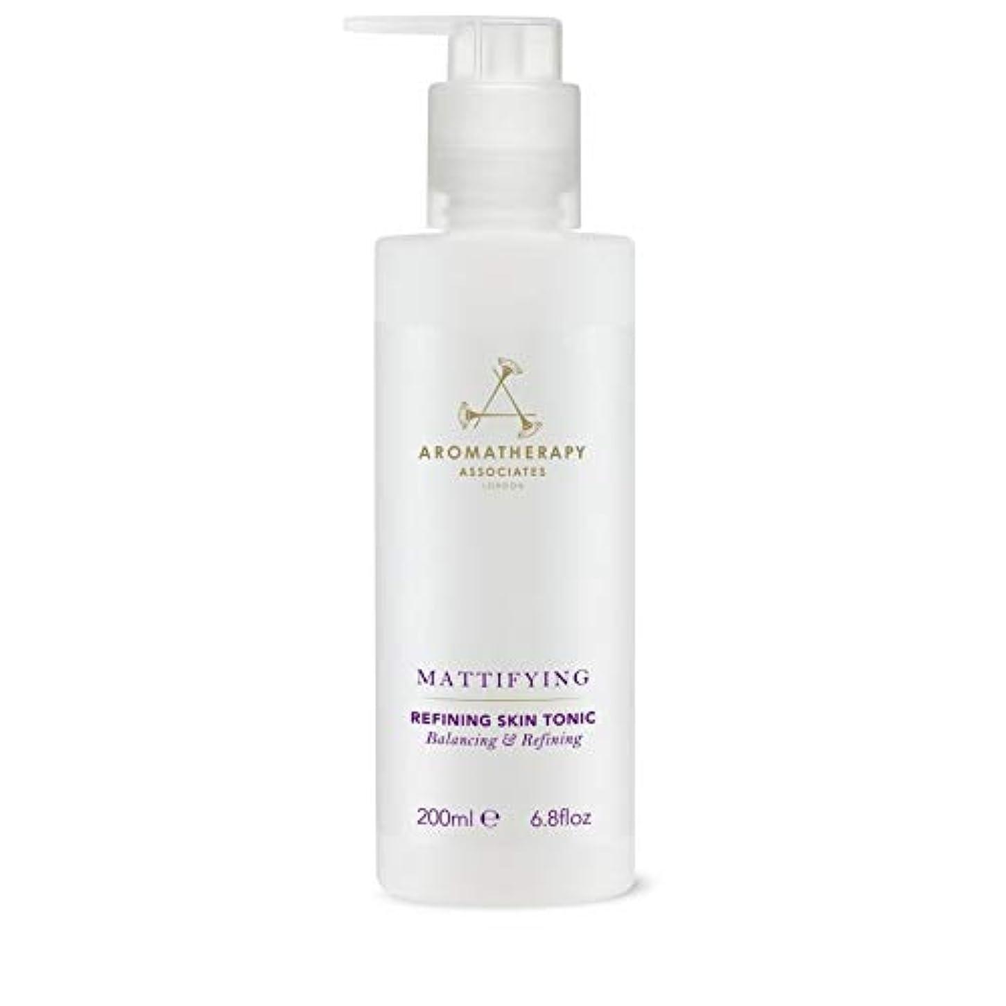 つまずく独裁者皿[Aromatherapy Associates ] アロマセラピーアソシエイツ精錬皮膚の強壮剤、アロマセラピーアソシエイツ - Aromatherapy Associates Refining Skin Tonic, Aromatherapy Associates [並行輸入品]