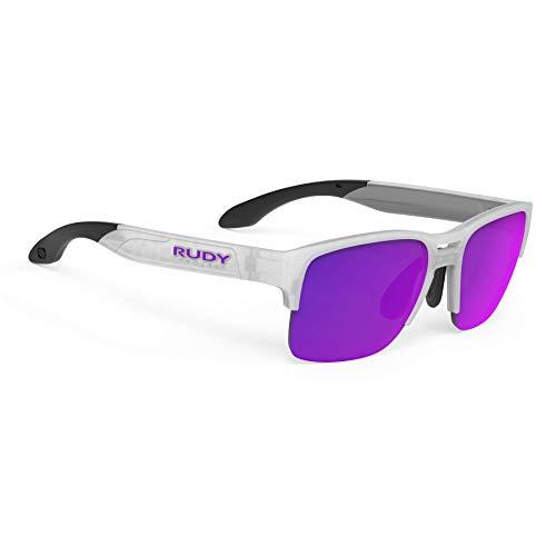 Rudy Project Spinair 58 Sonnenbrille Ice Matte - rp Optics multilaser Violet 2021 Fahrradbrille