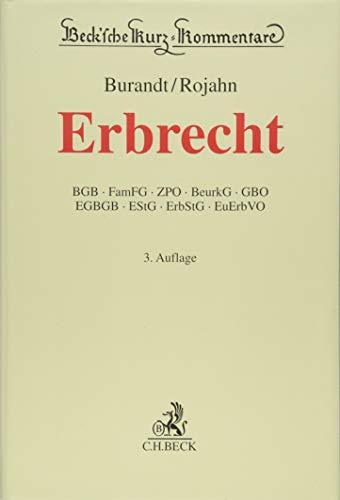 Erbrecht (Beck'sche Kurz-Kommentare, Band 65)
