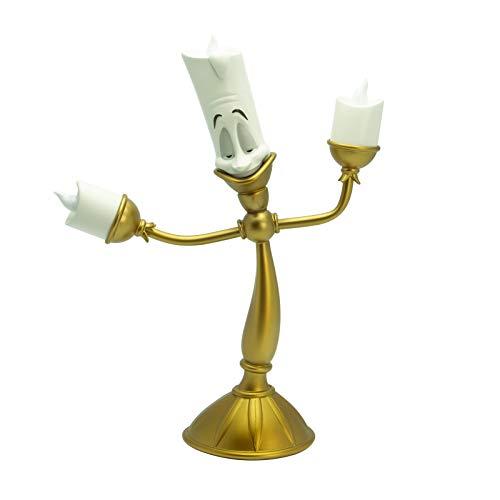 Disney - La Bella e la Bestia LUMIERE (Candeliere) Lampada Led da Ambiente 31cm Batteria
