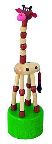 Girafe Wakouwa en bois Detoa