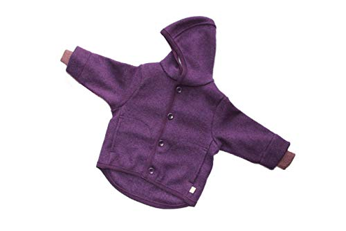 Disana Combinaison en laine m/érinos pour b/éb/é Grau. 50 cm//56 cm