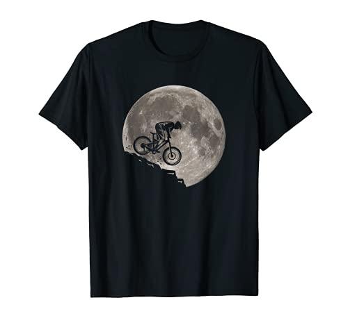 T-shirt Cycliste Hommes VTT Cadeau vélo Mountain Bike T-Shirt
