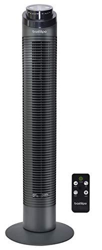 Bastilipo - Ventilador de torre - Varadero - 50W de potencia - 3 velocidades