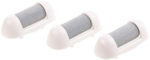 Sichler Beauty Zubehör zu Fußpflegegerät: 3er-Set Hornhautentferner-Aufsätze für SB-50.ak, grob (Hornhaut Entfernen elektrisch)