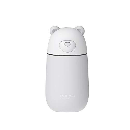 Humidificadores Personal pequeño humidificador de escritorio, mini humidificadores de aire por ultrasonidos portátiles USB for autos escritorio de oficina dormitorio casa para la habitación de la casa