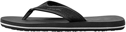 G-STAR RAW Loaq, Chanclas Hombre, Negro (Black 8718/990), 40/41 EU