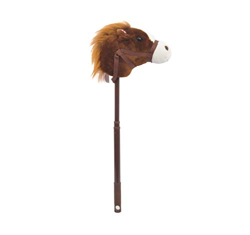 Linzy Adjustable Horse Stick with Sound,...