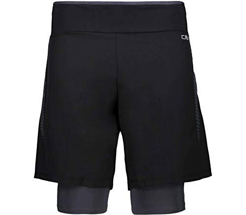 CMP Short de Course Hommes 3c93777 S Noir