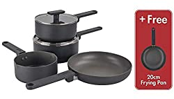 5 Times Stronger Than Other Non-Sticks* Suitable for all cookers including induction - Dishwasher safe - Flake and peel free Healthy dry frying, no need for oil or butter - 100% PFOA free Lifetime Guarantee including the non-stick! * Visit www.scovil...