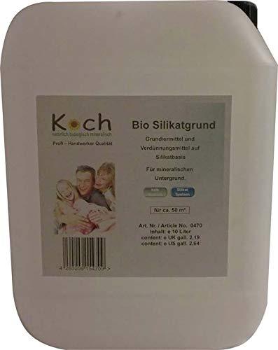 Koch Ecoprimer Silikatgrund 5 Ltr. Grundierung Sperrgrundierung Haftgrund Haftgrundierung verdünner (10 Liter)