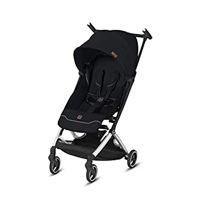 gb Pockit+ All City, Ultra Compact Lightweight Travel Stroller with Front Wheel Suspension, Full Canopy, and Reclining Seat in Velvet Black from AmazonUs/CYBXF