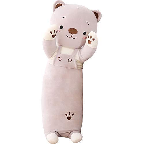 EREL 70 cm große Spielzeug niedlich Teddy Puppe Kissen Spielzeug hält natürliche schlafende Puppe hält dedu