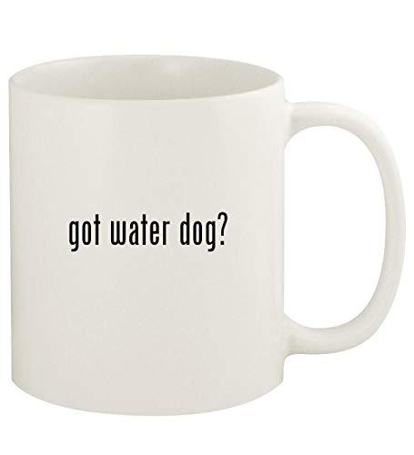 got water dog? - 11oz Ceramic White Coffee Mug Cup, White