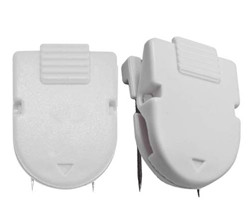 1InTheOffice Cubicle Clips, White, 12/Pack (White)