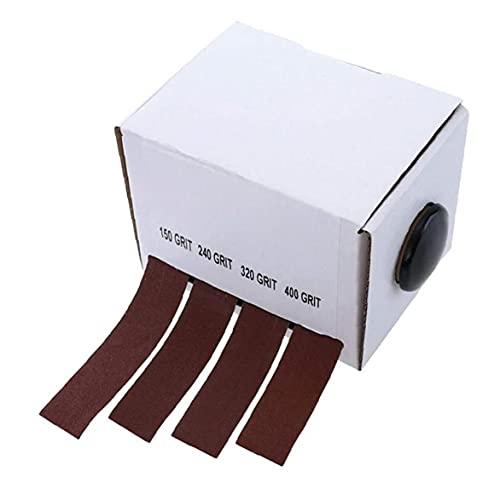 Emery Cloth rodillo de pulido molino rojo oscuro Herramientas Disponibles abrasivo Paquete para lijadoras de banda contorneada y la superficie curva