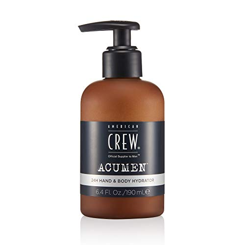 American Crew ACUMEN 24H Hand amp Body Hydrator for Men Daily Lotion for Moisturized amp Refreshed Skin