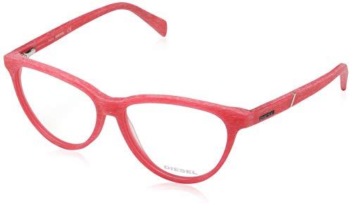 Diesel DL5130 54068 Diesel Brille DL5130 068 54 Cateye Brillengestelle 54, Rot