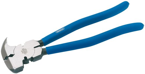 Draper 68450 - Cortaalambres para alambradas (260 mm, mango suave)