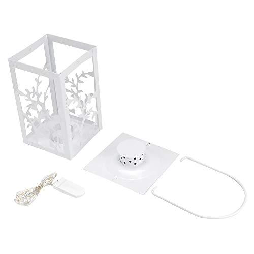 WJIN Luz de energía Solar, luz de candelabro LED de Hierro de Estilo Retro Cadena de lámpara cálida para la Sala de Estar del Dormitorio del hogar