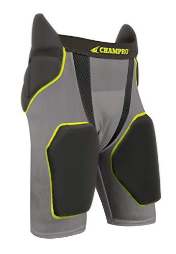 CHAMPRO Adult Tri-Flex Integrated 5 Pad Girdle