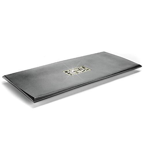 Why Choose Tea Sets Tea tray Chinese Kung Fu tea tray/tea table black ebony stone tea tray square ho...